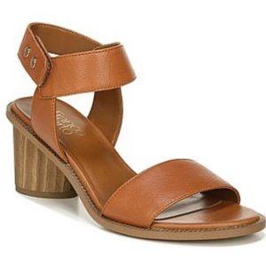 NWT FRANCO SARTO bask leather sandal